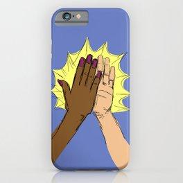 high five!!!! iPhone Case