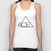 ace Tank Tops featuring ACE by Noctambulous Designs