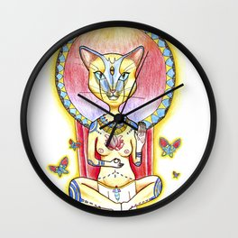 Chamana Egipcia Wall Clock