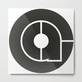 Caroline Cole Art Logo Metal Print
