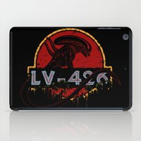 lv iPad Cases featuring LV-426 by Crumblin' Cookie
