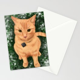 Disgruntled Tabby Stationery Cards