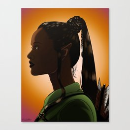 Nyota Greenleaf Canvas Print