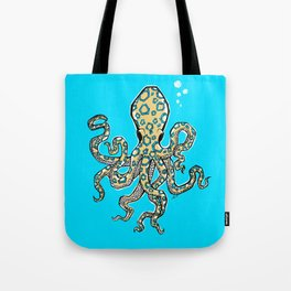 Blue Ringed Octopus II Tote Bag