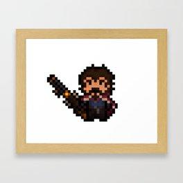 Graves, The Pixel Gunslinger Framed Art Print