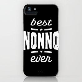 Best Nonno Ever Gift Grandpa Gift iPhone Case