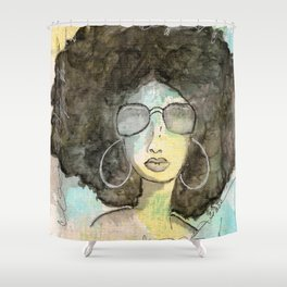 Dope Girl Shower Curtain