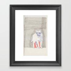 Cat 01 Framed Art Print