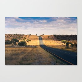 Road in Africa Canvas Print