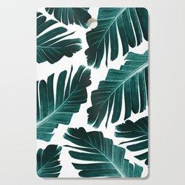 Tropical Banana Leaves Dream #1 #foliage #decor #art #society6 Cutting Board