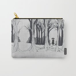 Girl Faces the Future Carry-All Pouch