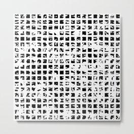Controlled Randomness Metal Print