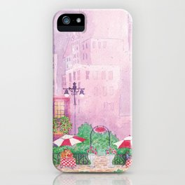 City Cafe iPhone Case