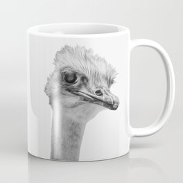 Whats up? - (the ever inquisitive Ostrich) Coffee Mug