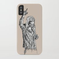 harry styles iPhone & iPod Cases featuring Harry Styles by Cécile Pellerin