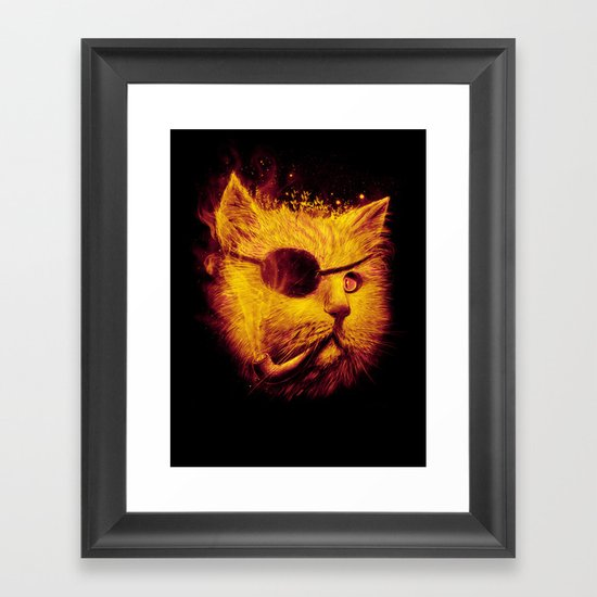 Irie Eye Framed Art Print
