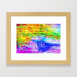 LoveLight Lighting Experiment 23 Framed Art Print
