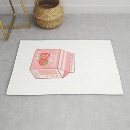 strawberry milk Rug