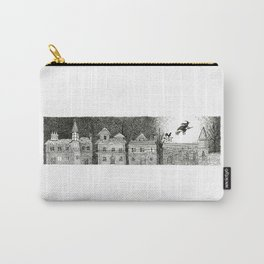 Witch in Full Moon Carry-All Pouch