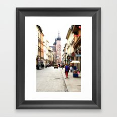 day dream Framed Art Print