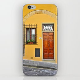 Italian Doorway, House Number 1 iPhone Skin