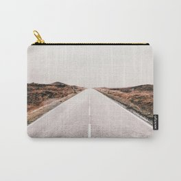 ROAD - HIGH WAY - LANDSCAPE - PHOTOGRAPHY - NATURE - ADVENTURE - SKY Carry-All Pouch