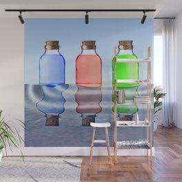Bottles Wall Mural