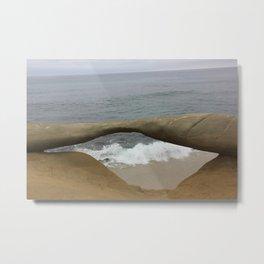 Eye on the sea Metal Print