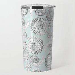 Aquatic Pattern Travel Mug