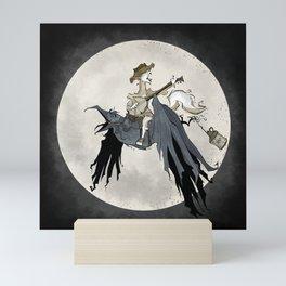 Howling at the Moon Mini Art Print