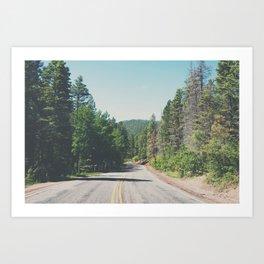 Santa Fe National Forest ... Art Print