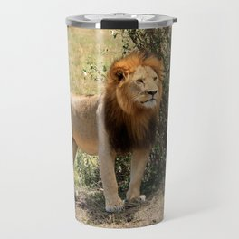 King Of The Savannah Travel Mug
