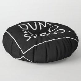 Dum spiro spero Floor Pillow