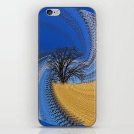 Prairie oak swirl iPhone Skin
