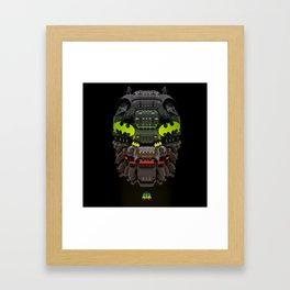 Pop Head Framed Art Print
