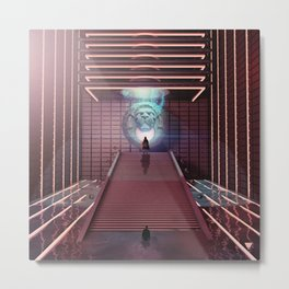 HALL OF COURAGE - ∀ Metal Print