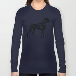 I Only Care About My Boxer.. Long Sleeve T-shirt