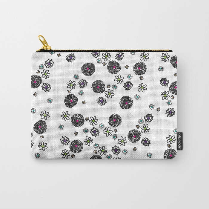 flower tops Carry-All Pouch