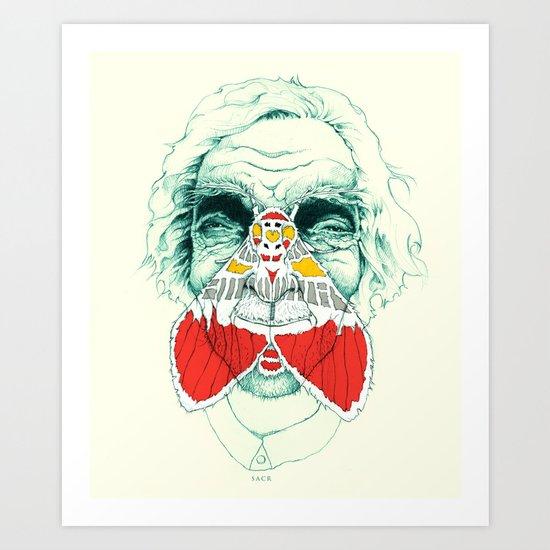 Mothbums Portrait N°6 Art Print
