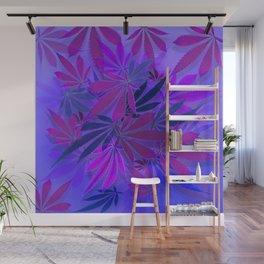 Purple Swirl Wall Mural