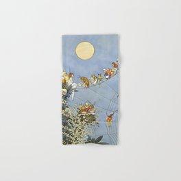 """The Fairy's Birthday"" Illustration by W Heath Robinson Hand & Bath Towel"