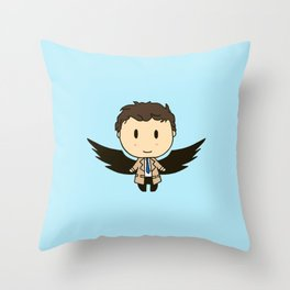 Cas With Wings Throw Pillow