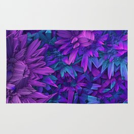 Purple Jungle Rug