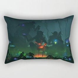 Goblin Mystics Rectangular Pillow