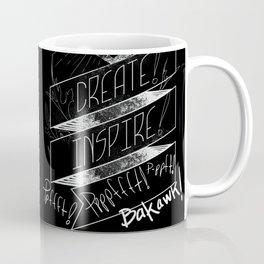 Love NOW, Create, Inspire, Pppfffft ppffft p-ppfft Coffee Mug
