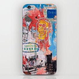 Basquiat Style 2 iPhone Skin