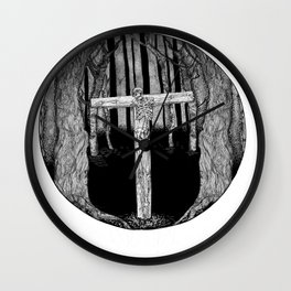 Merciful Trees Wall Clock