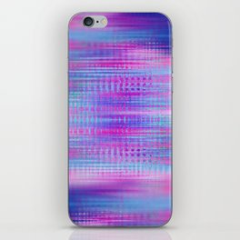 Distorted signal 02 iPhone Skin