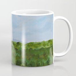 Nashville Skyline from Cheekwood Coffee Mug