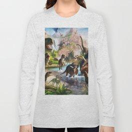 Jurassic dinosaur Long Sleeve T-shirt